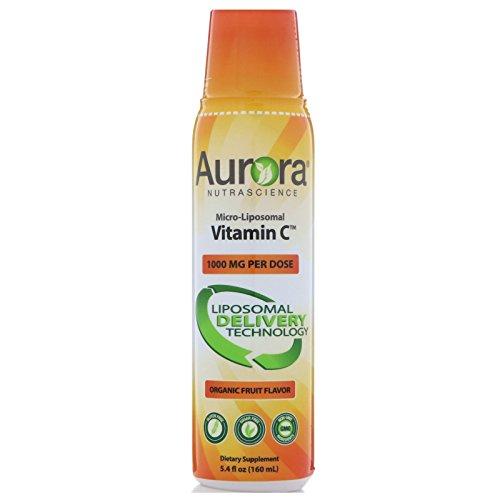 Aurora Nutrascience Mega-Liposomal Vitamin C 1,000 mg Vida Lifescience 5.4 oz Liquid