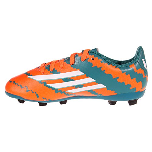 adidas Messi 10.4 FXG Kids Chaussures de Football Junior-Bleu/Orange