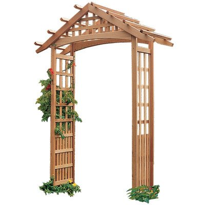 Nantucket Arbor with Stakes ()