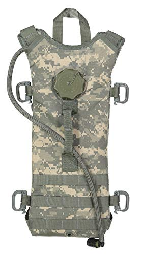 - Mcguire Gear Tactical MOLLE Hydration Pack with Large 3-Liter Bladder - Great for Cycling, Hiking, Camping, Running, Climbing, Hunting (ACU Digital)