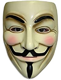 Guy Fawkes V For Vendetta Mask Anonymous Fancy Cosplay Costume