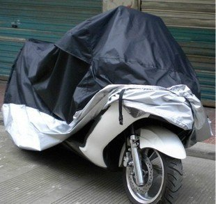 XL Motorcycle Motorbike Water Resistant Dustproof Uv Protective Breathable Cover