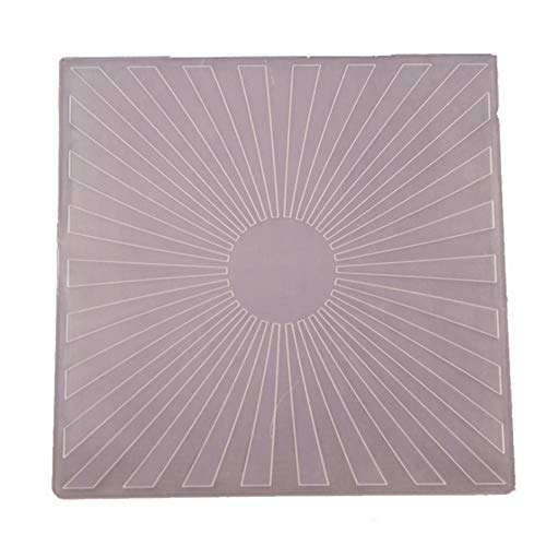 Welcome to Joyful Home 1PC Sunset Background Embossing Folder for Card Making Floral DIY Plastic Scrapbooking Photo Album Card Paper DIY Craft Decoration Template Mold