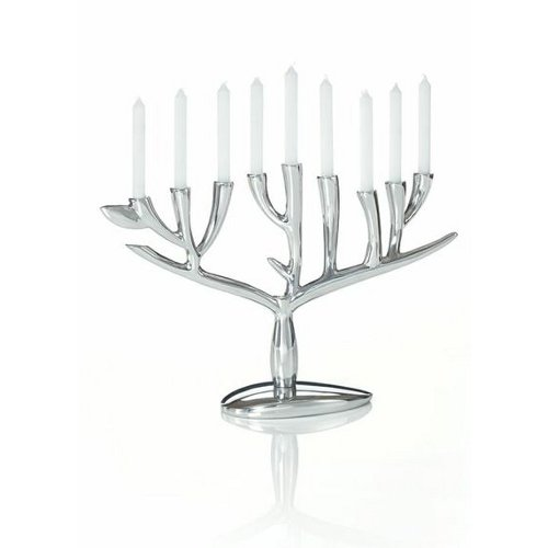 Nambe Tree of Life Menorah ()