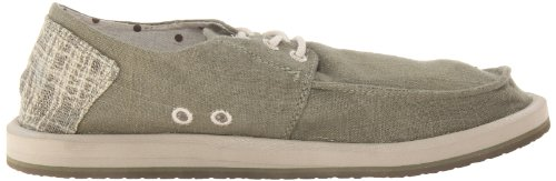 Sanuk Hombres Drewby Boat Shoe Faded Olive
