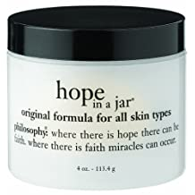 Philosophy Hope in a Jar Daily Moisturizer, All Skin Types, 4 Ounce