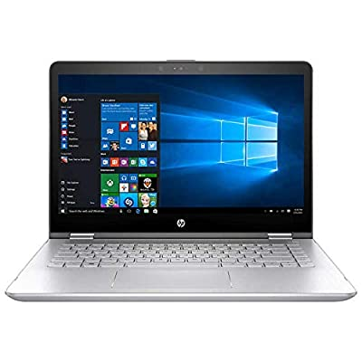 "Flagship HP Pavilion x360 14"" 2-in-1 Full HD IPS Touchscreen Business Laptop, Intel Quad-Core i5-8250U 8G DDR4 256G SSD B&O Audio WLAN Backlit Keyboard HDMI Bluetooth USB Type-C Win 10 with Stylus Pen"