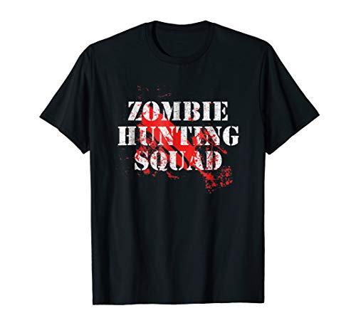 Zombie Hunter Shirt - Lazy Halloween Costume T-Shirt ()