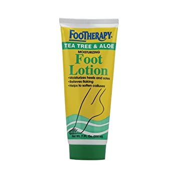 Queen Helene Footherapy Foot Lotion Tea Tree And Aloe - 7 Fl Oz
