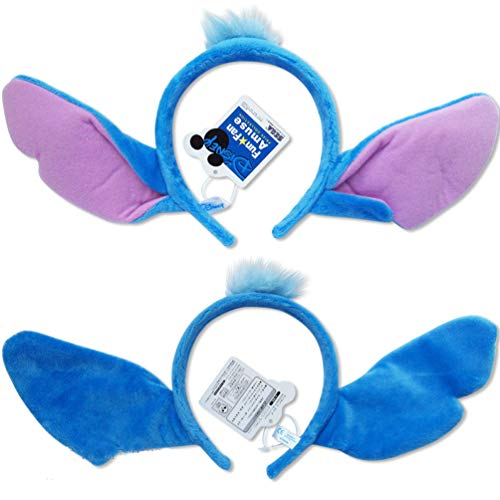Lilo And Stitch Ears Costume Plush Hair Headband Children Adult Cosplay Birthday Party Favors]()