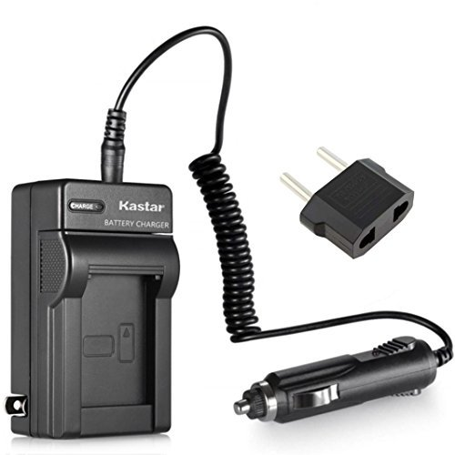 Kastar Replacement Battery Charger for Sony Cybershot DSC-H10 DSC-H50 DSC-W120 DSC-W300 DSC-W30 DSC-W35 DSC-W40 DSC-W50 DSC-W55 DSC-W70 DSC-W80 DSC-W85 DSC-W90 DSC-WX1 DSC-WX10 HDR-GW55 HDR-GW77