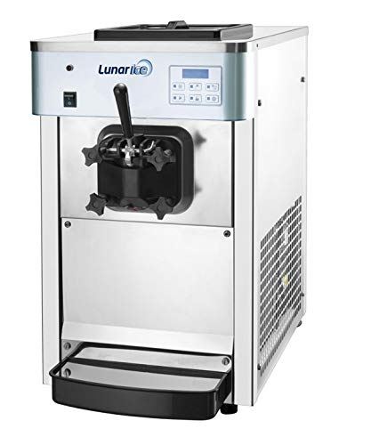 - Lunar Ice Countertop Single Flavor Ice Cream Machine Model LIIC-1H