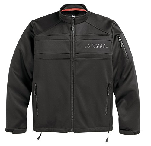 Harley-Davidson Men's Precision Soft Shell Jacket - 98514-12VM (X-LARGE) (Harley Davidson Shell)