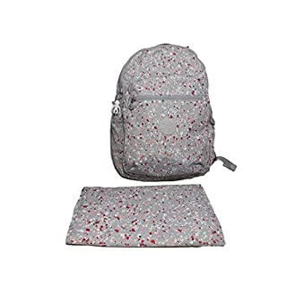 Kipling Women's Seoul Baby Diaper Bag Backpack, speckled, One Size