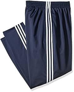 adidas Men's 3-Stripe Pant, Dark Navy/White, 5X-Large