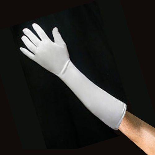 "100% White Cotton Gloves – 14"" Light Weight - 12 Pairs – ..."