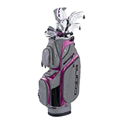 The f-max Superlite Women's premium complete set features COBRA's lightest and most forgiving driver, fairways, hybrids, and irons that are each engineered with lighter head weights, grip weights, and shaft weights to deliver unrivaled distan...