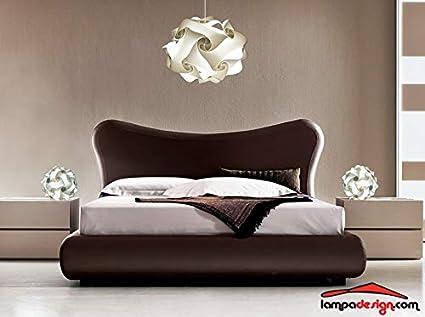 Lampade da camera da letto moderne: lampadario camera da letto
