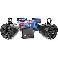 MTX MOTORSPORTS ORVKIT1 Tower 2-Speaker & Amplifier Off-Road Motorsports Package
