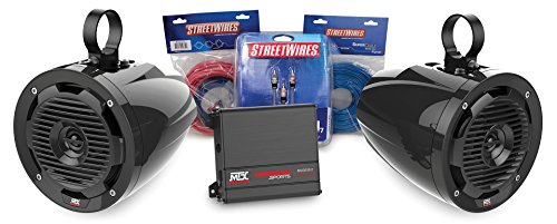 MTX MOTORSPORTS ORVKIT1 Tower 2-Speaker & Amplifier Off-Road Motorsports (Mtx Stereo Speakers)