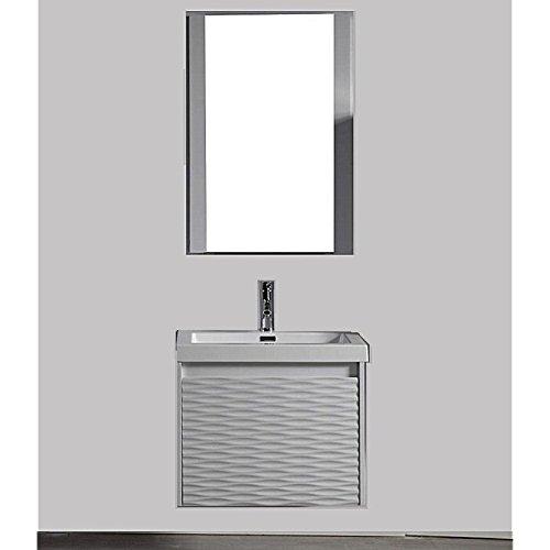 Blossom Paris 24 Inch Modern Single Sink Bathroom Vanity In