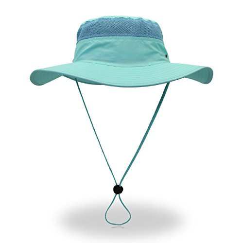 belababy Sun Hat Light Blue for Summer Outdoors Quick-Dry