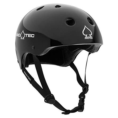 Pro-Tec Classic Cert, Gloss Black, - Park Helmet Skate