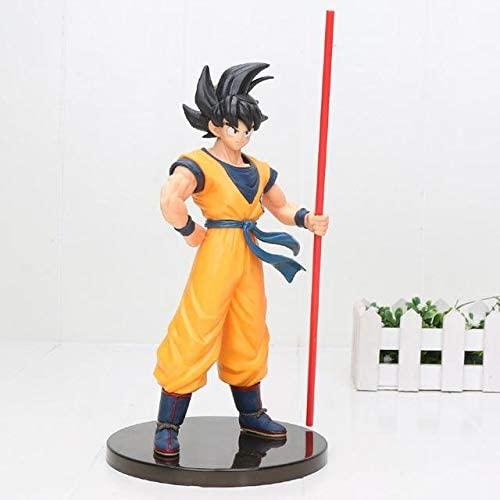 Collections Anime Toy Dragon Ball Z Vegeta Blue Hair Figurine Statues 24cm