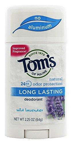 Tom's of Maine - Long Lasting Natural Deodorant Wild Lavender - 2.25 oz.