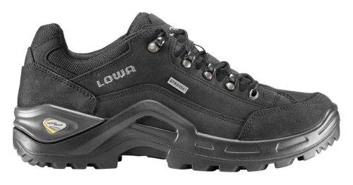 Lowa Renegade II GTX® Lo Wide All Terrain Trekking Schuh Herren schwarz, Größe:46.5