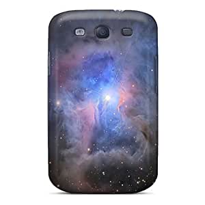 Rugged Skin Cases Covers For Galaxy S3- Eco-friendly Packaging(iris Nebula Outer Space)