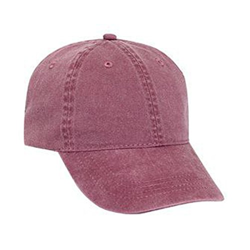 Low Profile Style Cap (OTTO Washed Pigment Dyed Cotton Twill Low Profile Style)