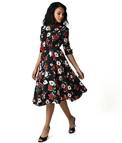 40s shirt dress - 9