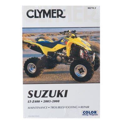 Clymer Repair Manuals for Kawasaki KFX 400 2003-2006