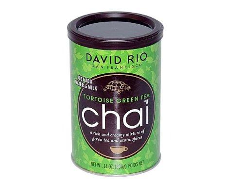 Chai Tea green Tea Tortoise David Rio 3 Dosen je 398 g