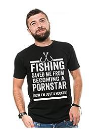 0c00b7367 Silk Road Tees Fishing T-Shirt Men's Funny Fishing Tee Best Fishing Shirt  Gift Tee
