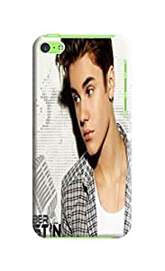 fashionable Cool Justin Bieber Elegant TPU phone Case Cover Skin For iphone 5c with cool photo design