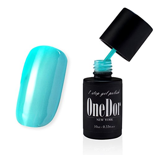 OneDor® One Step Gel Polish UV Led Cured Required Soak Off