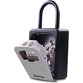Amazon Com Key Lock Box Combination Lockbox With Code