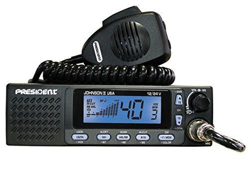 President Electronics Johnson II USA CB Radio 12/24V
