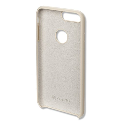 4smarts Silicone Case Cupertino for Apple iPhone iPhone 7 Plus Creme-White (Plus Creme)