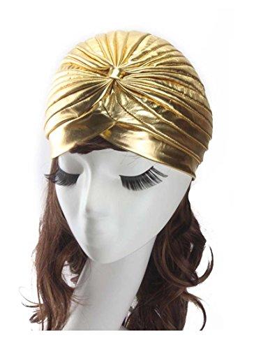 (Women's Indian Scarf Cap Yoga Hat Fold Cap Head Wrap Cap Cover)