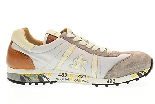 Uomo Beige Premiata Basse 1984 Lucy Sneakers cuoio Scarpe A5aanxHwq6