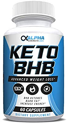 Keto Fat Burner Pills for Women - with Patented goBHB Ingredients - Formula to Burn Fat, Block Carbs - Weight Loss Supplement for Women & Men -60 Capsules