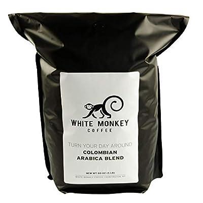 White Monkey Gourmet Bulk Coffee Beans | 100% Arabica | Kosher | Whole Bean Coffee