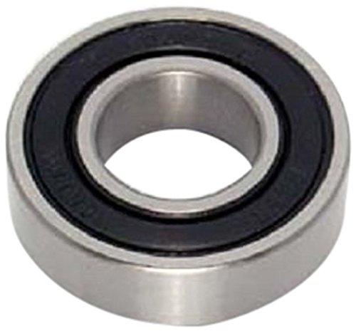 Peer Bearing 6203-2RLD-10 6200 Series Radial Bearings, 15.875 mm ID, 40 mm OD, 12 mm Width, Double Lip Seal