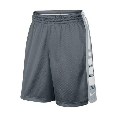 70136a9ba860 Galleon - Nike Mens Elite Stripe Basketball Shorts (Grey