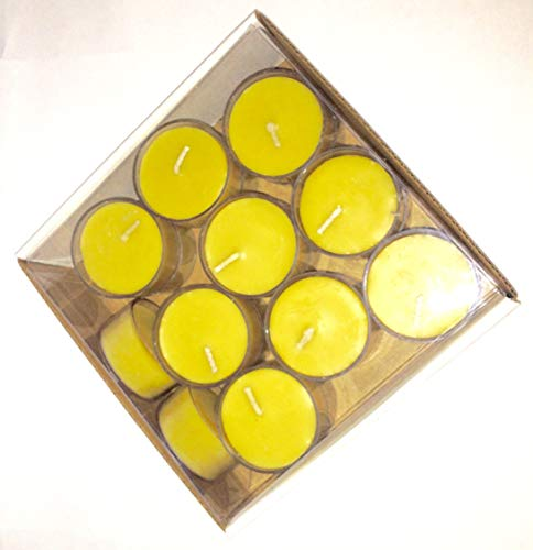 deal price 100 pack pure natural beeswax tea light candles 100% organic handmade