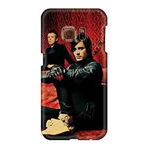 Shock Absorption Cell-phone Hard Covers For Samsung Galaxy S6 (NbY15014XuLo) Allow Personal Design High Resolution 30 Seconds To Mars Band 3STM Image