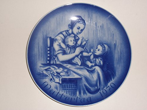 1970 Mother's Day Collector's Plate by (Bareuther Mothers Day Plate)